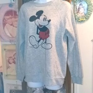 Vintage 1980's Mickey Mouse Sweatshirt from Disney